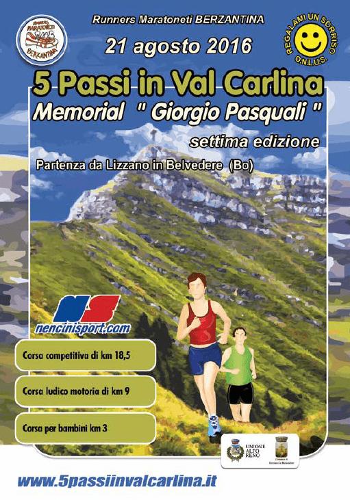 5 passi in Val Carlina @ Piazza Marconi, Lizzano in Belvedere (Bo) | Lizzano | Puglia | Italia