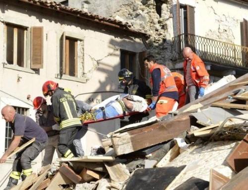 24 agosto 2016: terremoto in Centro Italia