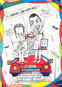 Disegno Carnevale Ilaria Longo Avis Bologna