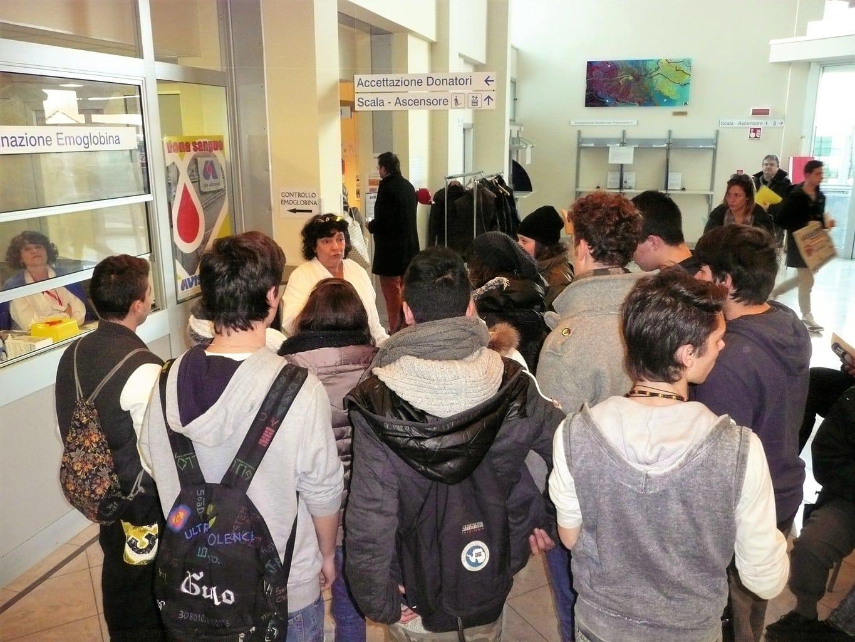 Lezioni frontali Avis per scuole secondarie di I° grado