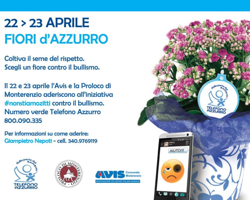 Fiori d'Azzurro: Avis e ProLoco di Monterenzio insieme contro il bullismo @ Monterenzio  | Monterenzio | Emilia-Romagna | Italia