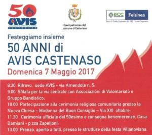 50° anniversario Avis Castenaso e Premiazioni donatori @ Sede Avis Castenaso | Castenaso | Emilia-Romagna | Italia