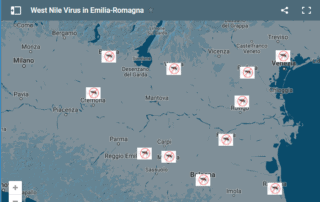 Aggiornamenti West Nile Virus 2017