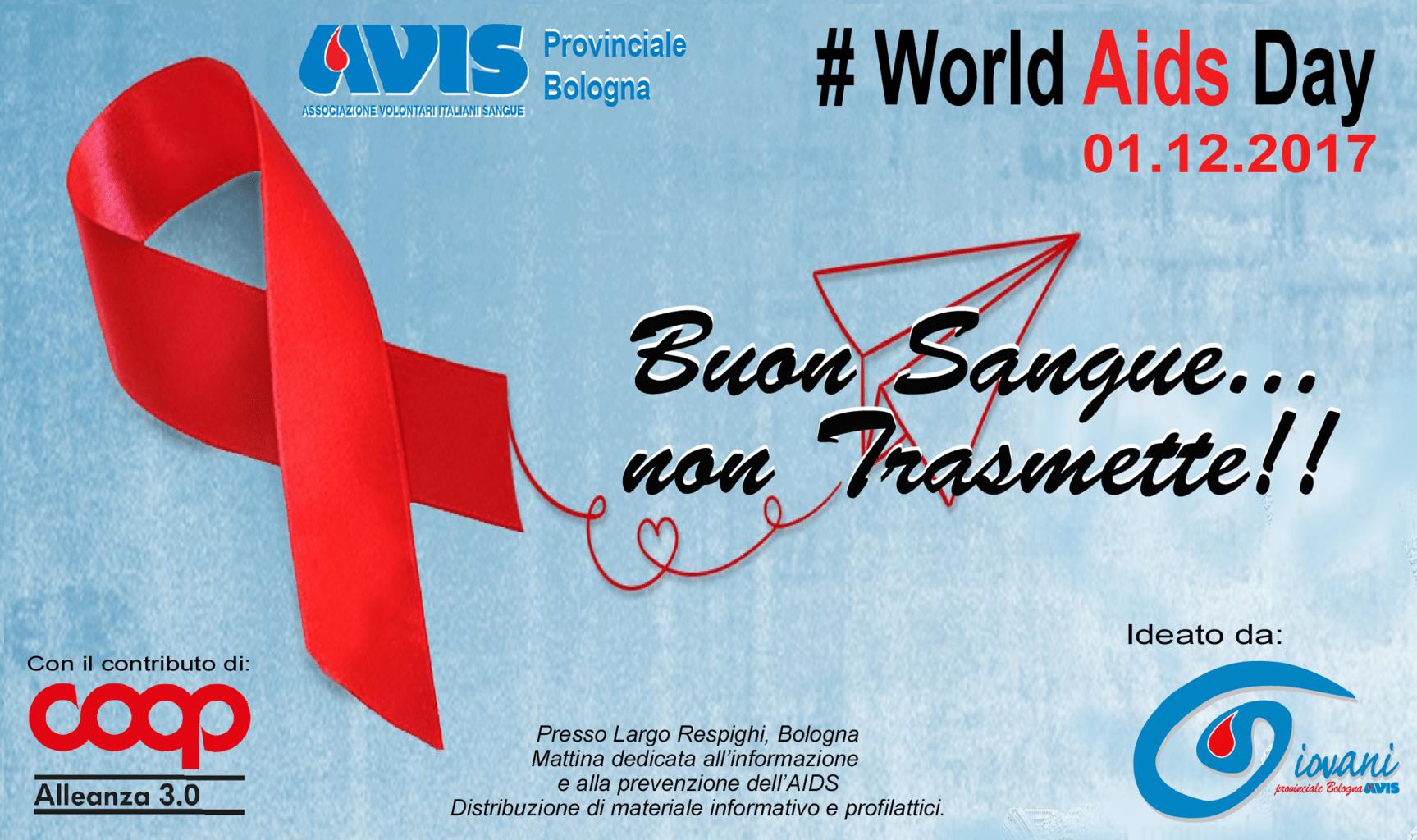 Evento AIDS Gruppo Giovani Avis Bologna