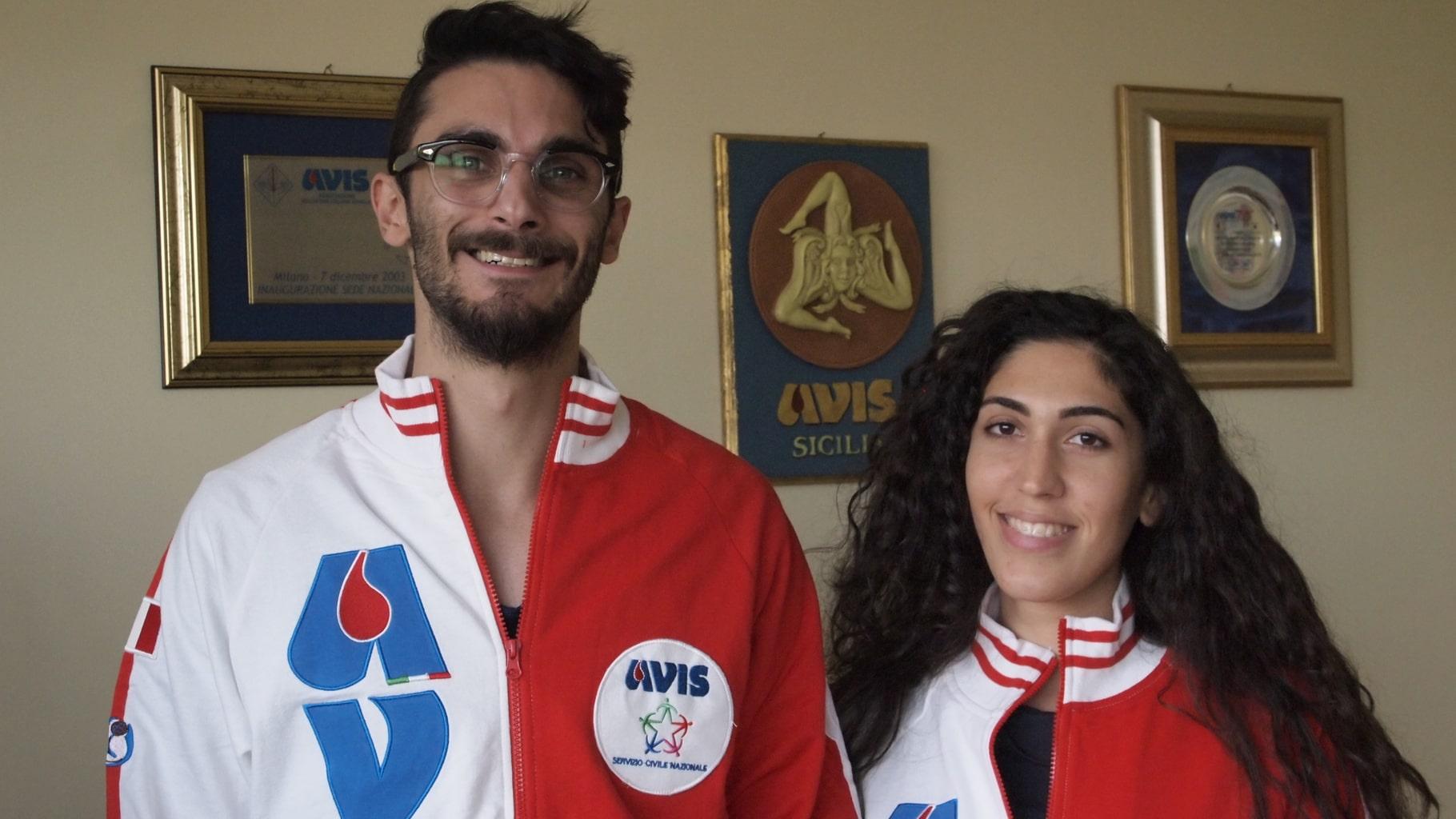 Pina e Andrea Servizio Civile Avis Bologna