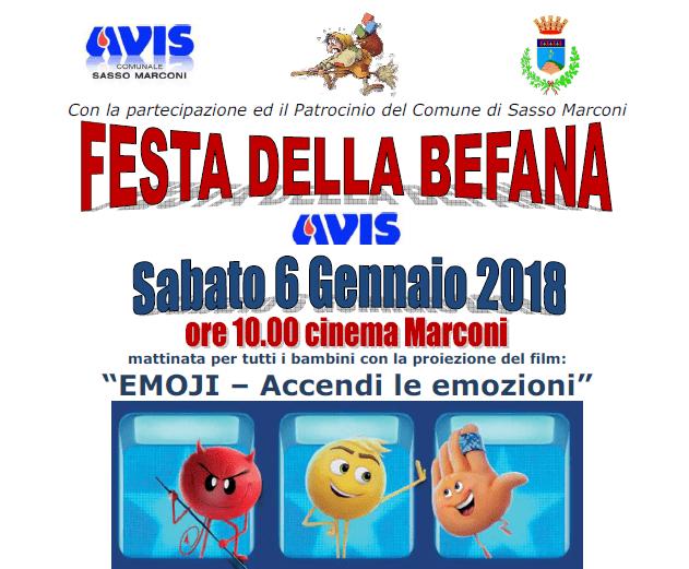 Festa della Befana Sasso Marconi @ Sede Avis Sasso Marconi | Sasso Marconi | Emilia-Romagna | Italia