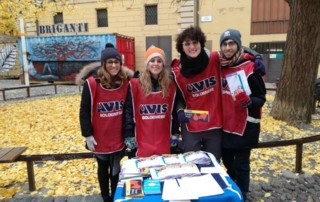 AIDS day gruppo giovani Avis Bologna