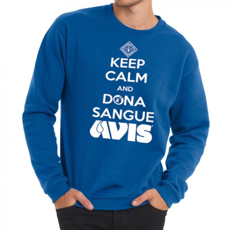 felpa keep calm AVIS