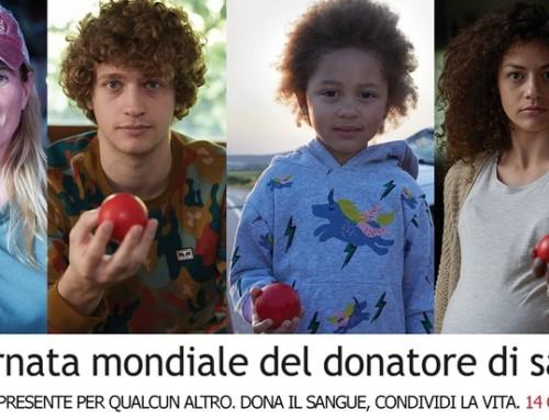 Giornata mondiale del donatore di sangue 2018