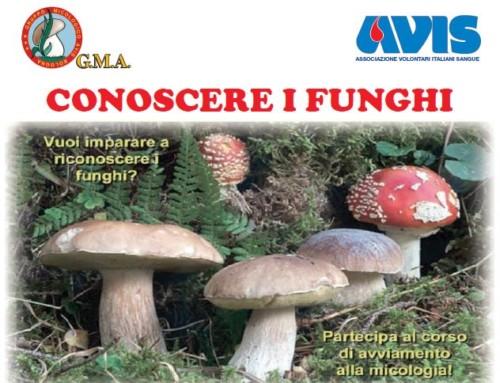 """Nuovo corso """"Conoscere i funghi"""""""