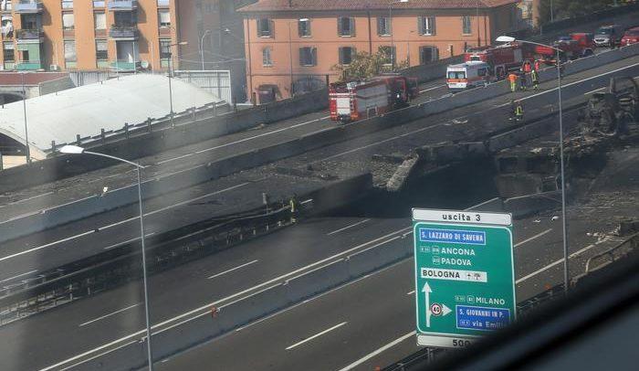 Incidente Bologna Borgo Panigale