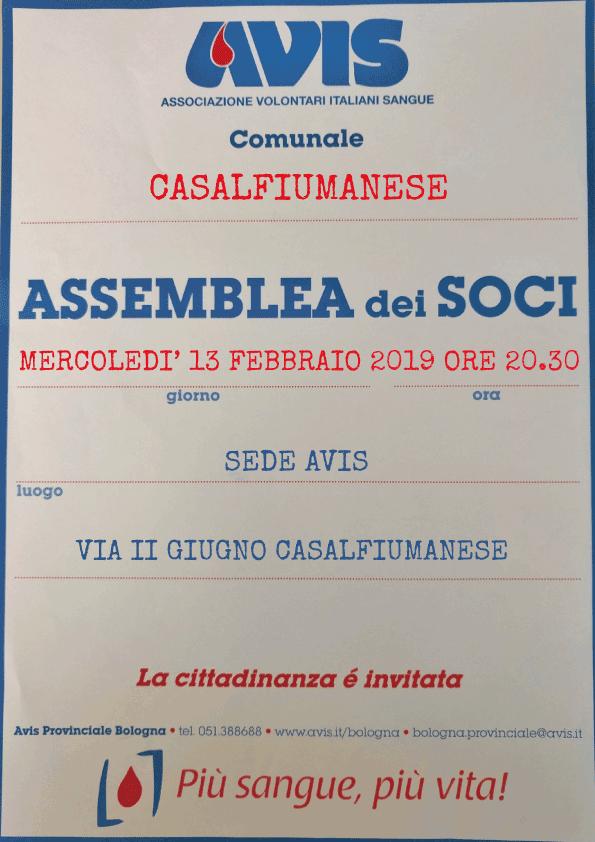 Assemblea 2019 Avis Casalfiumanese