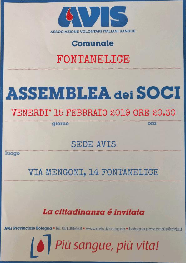 Assemblea 2019 Avis Fontanelice
