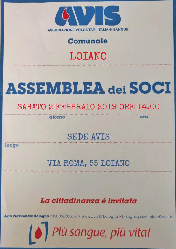 Assemblea Avis Loiano 2019