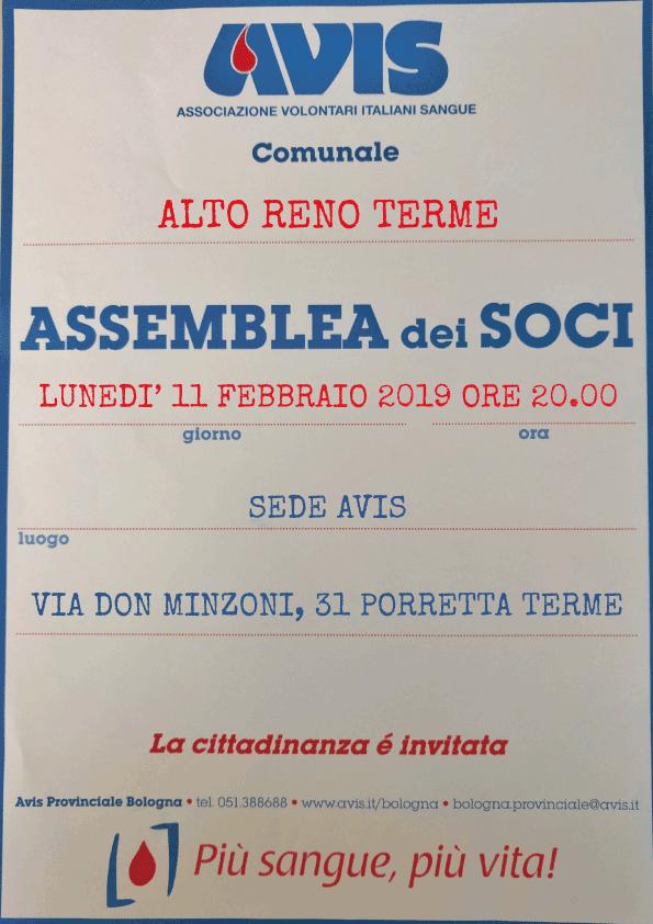 Assemblea 2017 Alto Reno Terme