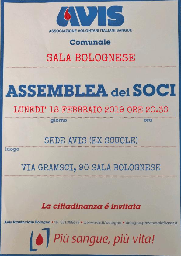Assemblea 2019 Sala Bolognese