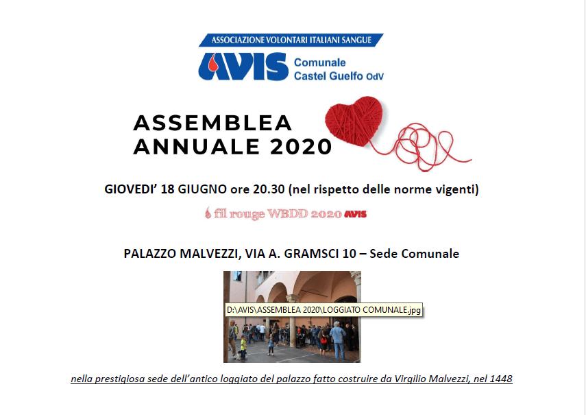 RINVIATA- Assemblea 2020 Castel Guelfo @ Palazzo Malvezzi | Castel Guelfo di Bologna | Emilia-Romagna | Italia