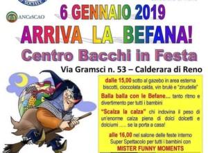 """Arriva la Befana a Calderara! @ Centro Sociale """"Carlo Bacchi"""""""