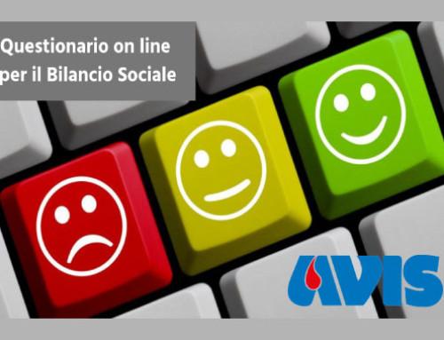 Un Questionario ai donatori per la redazione del Bilancio Sociale
