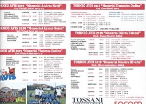 15° Trofeo Avis Imola @ Campo Sportivo 'N.Calipari'
