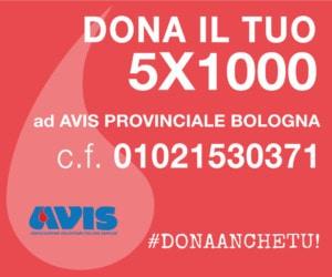 5x1000 Avis Bologna 2019
