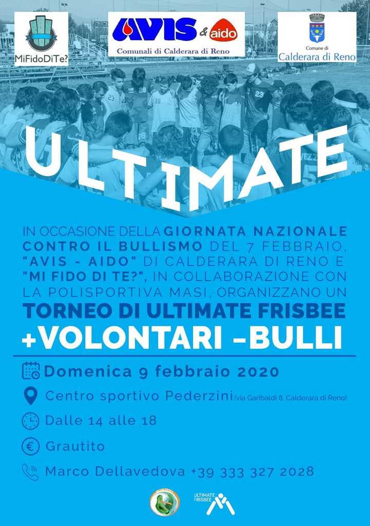 Torneo Ultimate Frisbee Avis Calderara di Reno @ Centro Sportivo Pederzini Calderara   San Vitale Grande   Emilia-Romagna   Italia