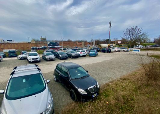 lavori parcheggio Casa dei Donatori