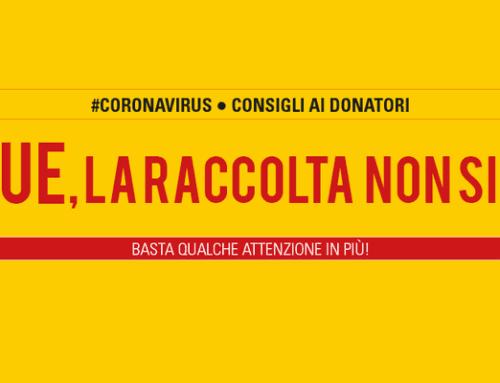 Coronavirus: si continua a donare, indicazioni utili per i donatori