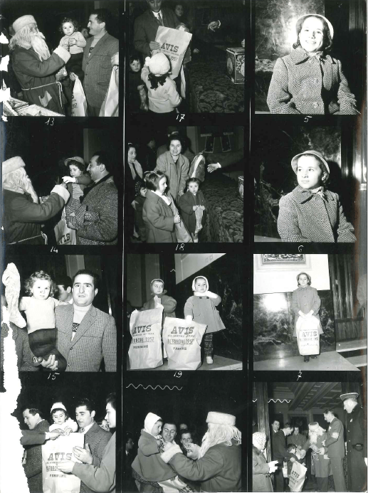 Avis Provinciale Bologna Befanone 1957