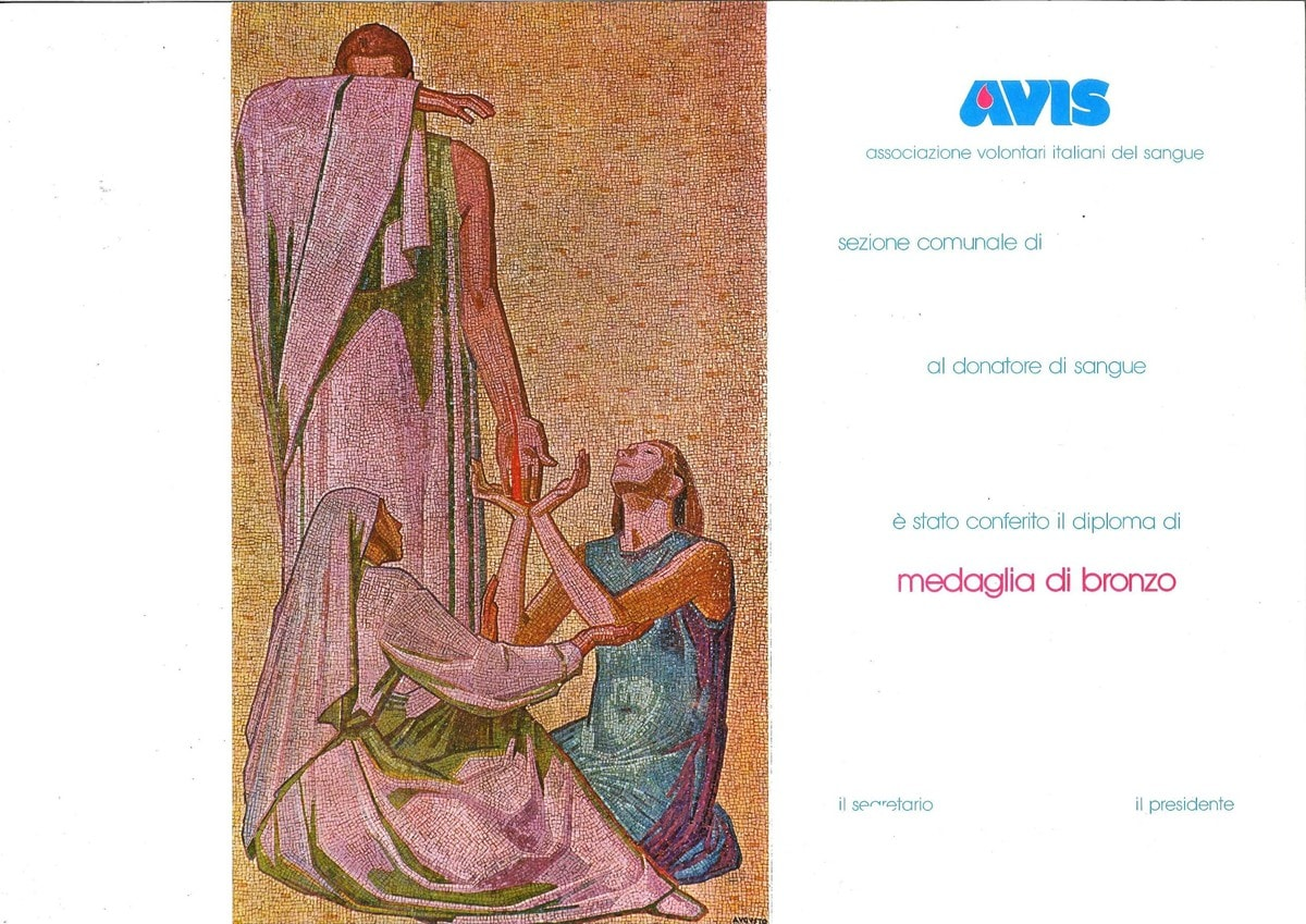 Diploma anni 90 Avis Grizzana_BO