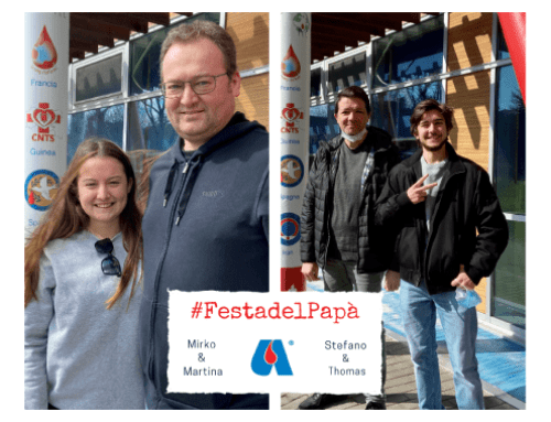 #FestadelPapà. Mirko e Martina, Stefano e Thomas: padri e figli insieme per Avis