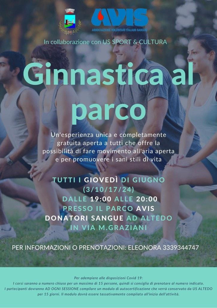 Ginnastica al parco - Avis Malalbergo @ Parco Avis Donatori Sangue Altedo   Altedo   Emilia-Romagna   Italia