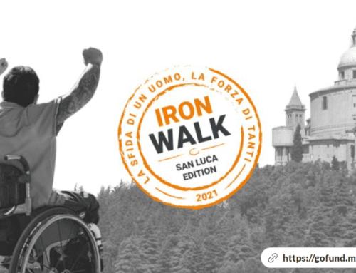 Avis Calderara di Reno per Ironwalk: la sfida di un uomo, la forza di tanti