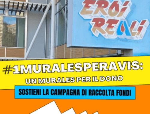 """Avis lancia il crowdfunding """"#1MuralesperAVIS: un murales per il dono"""""""