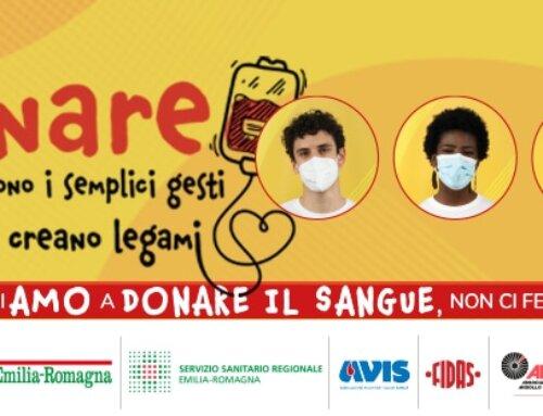ContinuiAMO a donare sangue, non ci fermiamo! La campagna di Regione, Avis e Fidas