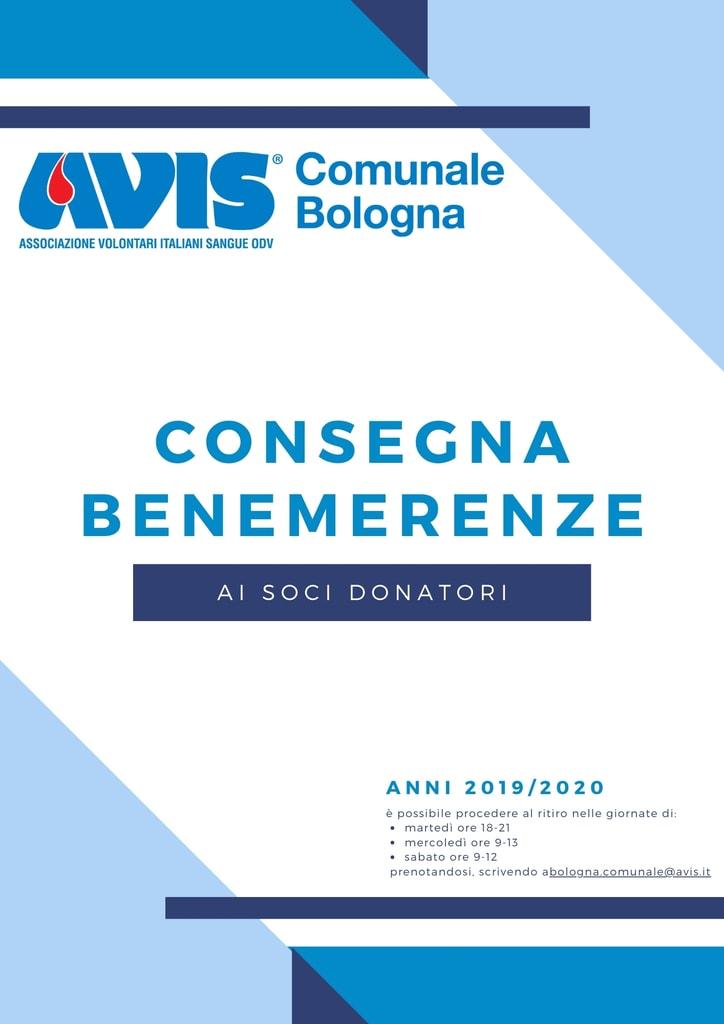 Consegna Benemerenze Avis Comunale Bologna @ Casa dei Donatori di Sangue Bologna | Bologna | Emilia-Romagna | Italia